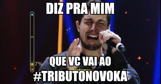 DIZ PRA MIM... Que você vai ao #TributoNovoKa